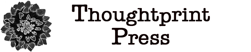 Thoughtprint Press Publishing Logo and Title